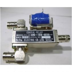 CX230L Coaxial relay, SPDT, Female BNC (3-bnc), 12 volt, Tohtsu