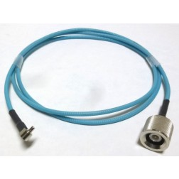 E036A-QDSSB-1M5-MT  Pre-Made Heliax Cable Assembly, 4.92 foot (1.5 metres), QDS Male to SMB Male, Andrew