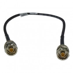 E057A-PNMNM-M55  Heliax Cable Assembly, 1.81 foot (0.55 metres), Type-N Male on both sides, Andrew
