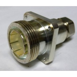 F4PDF-PM 7/16 DIN Female Panel Mount Connector, FSJ4-50B, Andrew