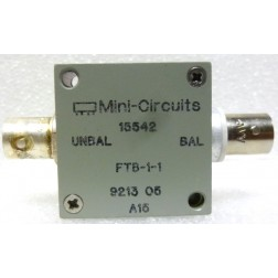 FTB-1-1 Mini-circuits, RF Transformer/Balun, 0.2-500 MHz, BNC Female, 50ohm, Mini-Circuits (Clean Used)