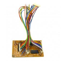 GALXBANDPCB66  Assembled Band PCB, Non-SMT, Early Version