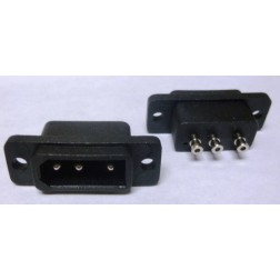 GALXDCSOCKET-348  DC Chassis Socket for Power Cord on Galaxy Radios