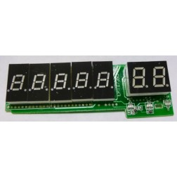GALXDISPLAYPCB959  Complete Display Board with LED's DX959, Galaxy