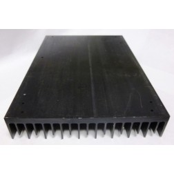 "HSBLK9 Heatsink, Black Anodized Aluminum, 6.5"" x 9-3/8"""