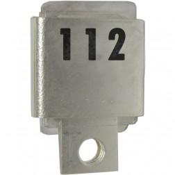 J101-112  Metal Cased Mica Capacitor, 112pf