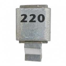 J602-220 Metal Cased Mica Capacitor 220pf