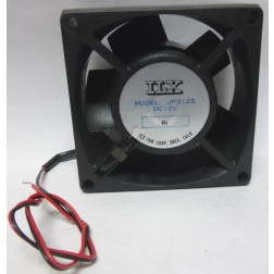JP3125 DC Cooling Fan, 12vdc, ILX