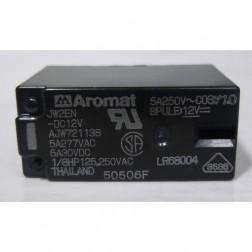 JW2EN-DC12V Relay, DPDT PCB, 12v, 5a 250v, Aromat