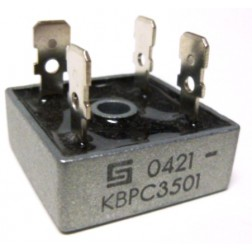 KBPC35-01 Rectifier, bridge 35amp 100v