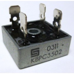 KBPC35-02 Rectifier, bridge 35amp 200v