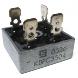 KBPC35-04 Rectifier, bridge 35amp 400v