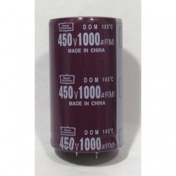 KMH450VN102M  Snap Lock Capacitor, 1000uf 450v, Nippon Chemicom