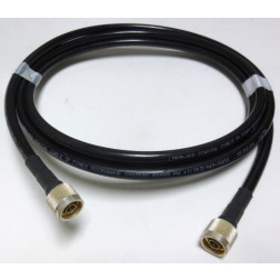 L400UFNMNM-3  Cable Assembly, 3 ft LMR400UF w/Type-N Male on both sides