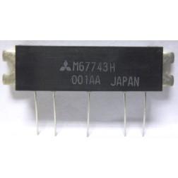 M67743H Power Module, 17w, 77-88 MHz, Mitsubishi