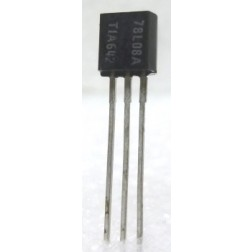 MC78L08A  Transistor, 100ma Positive Voltage Regulator