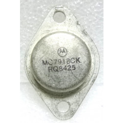 MC7918CK Transistor, Voltage Regulator, 18v, Negative, Motorola
