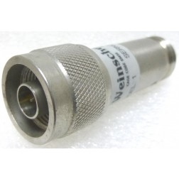 MODEL1  Fixed Attenuator, 6dB 5w, Type-N Male/Female, Weinchel