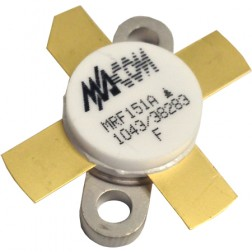 MRF151A-MA Transistor, RF Power Field-Effect Transistor 150W, 50V, 175MHz, N-Channel Broadband MOSFET, M/A-COM