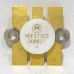 MRF173CQ-MOT Transistor, RF MOSFET, 80W, 175MHz, 28V, Motorola