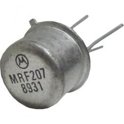 MRF207 NPN Silicon RF Power Transistor, 12.5 V, 220 MHz, 1.0 W, Motorola