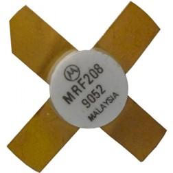 MRF208 NPN Silicon RF Power Transistor, 12.5 V, 220 MHz, 10 W, Motorola