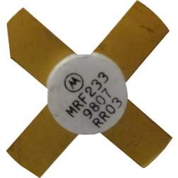 MRF233 NPN Silicon RF Power Transister, 12.5 V, 90 MHz, 15 W, Motorola