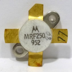 MRF250 NPN Silicon RF Power Transistor, 12.5 V, 175 MHz, 50 W, Motorola