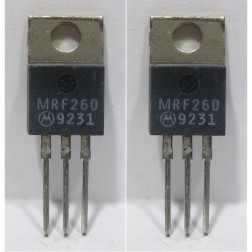 MRF260MP NPN Silicon RF Power Transistor, Matched Pair, 12.5 V, 175 MHz, 5.0 W, Motorola