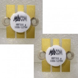 MRF316MP NPN Silicon Power Transistor, 80W, 3.0-200MHz, 28V, Matched Pair, Motorola