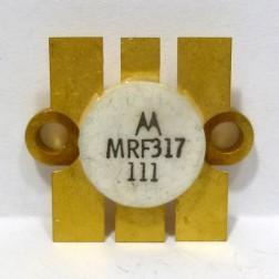 MRF317-MOT NPN Silicon Power Transistor, 100W, 30-200MHz, 28V, Motorola