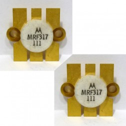 MRF317MP NPN Silicon Power Transistor, 100W, 30-200MHz, 28V, Matched Pair, Motorola