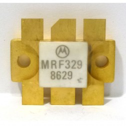 MRF329 NPN Silicon RF Power Transistor, 28 V, 400 MHz, 100 W, Motorola