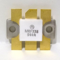 MRF338 NPN Silicon RF Power Transistor, 28 V, 470 MHz, 80 W, Motorola