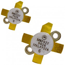 MRF422HBMP-MOT NPN Silicon Power Transistor, 150 W (PEP), 30 MHz, 28 V, High Beta, Matched pair, Motorola