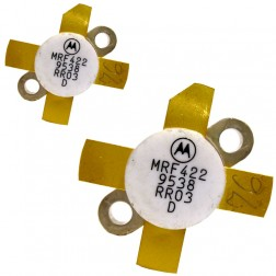MRF422LBMP-MOT NPN Silicon Power Transistor, 150 W (PEP), 30 MHz, 28 V, Low Beta, Matched pair,  Motorola