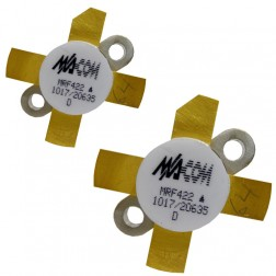 MRF422MP-MA NPN Silicon Power Transistor, Matched Pair, 150 W (PEP), 30 MHz, 28 V, M/A-COM