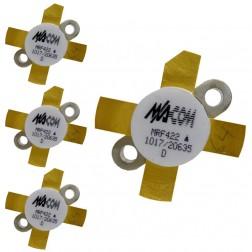 MRF422MQ-MA NPN Silicon Power Transistor, Matched Quad, 150 W (PEP), 30 MHz, 28 V, M/A-COM
