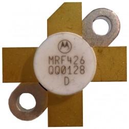 MRF426-MOT NPN Silicon Power Transistor, 25 W (PEP), 30 MHz, 28 V, Motorola