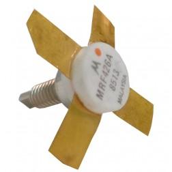 MRF426A NPN Silicon Power Transistor, 25 W (PEP), 30 MHz, 28 V, Stud Mount, Motorola