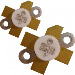 MRF426MP-MOT NPN Silicon Power Transistor, Matched Pair, 25 W (PEP), 30 MHz, 28 V, Motorola