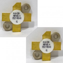 MRF426MP-MA NPN Silicon Power Transistor, Matched Pair, 25 W (PEP), 30 MHz, 28 V, M/A-COM