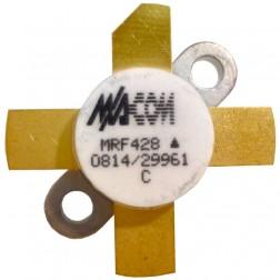 MRF428-MA NPN Silicon Power Transistor, 150 W (PEP), 30 MHz, 50 V, M/A-COM