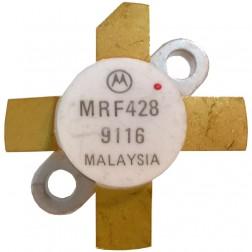 MRF428-MOT NPN Silicon Power Transistor, 150 W (PEP), 30 MHz, 50 V, Motorola