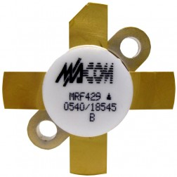 MRF429-MA  NPN Silicon Power Transistor, 150 W (PEP), 30 MHz, 50 V, M/A-COM