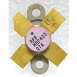 MRF433-RFP  Transistor, NPN Silicon, 12.5 watt, 30 MHz, RFP