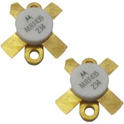 MRF435MP NPN Silicon RF Power Transistor, 28 V, 30 MHz, 150 W, Matched Pair, Motorola