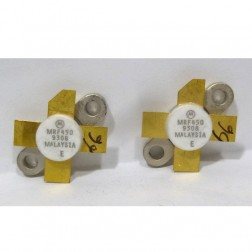 MRF450MP NPN Silicon Power Transistor, Matched Pair, 50 W, 30 MHz, 12.5 V, Motorola