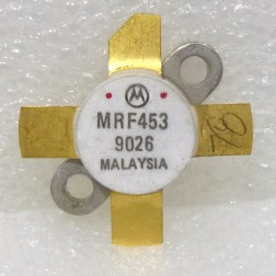 MRF453MP NPN Silicon Power Transistor, Matched Pair, 60 W, 30 MHz, 12.5 V, Motorola