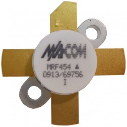 MRF454-MA NPN Silicon Power Transistor, 80W, 30MHz, 12.5V, M/A-COM